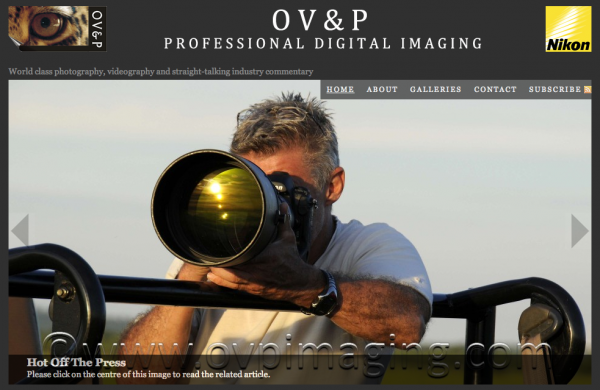 OV&P Professional Digital Imaging Website