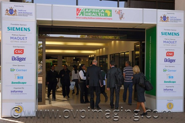 Africa Health Exhibition Entrance