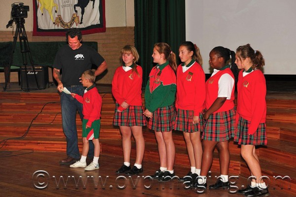 Beaulieu Prep School donating to Damien Mander of IAPF