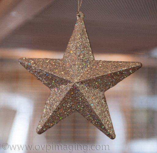 Xmas star decoration